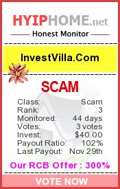 www.hyiphome.net - hyip invest villa