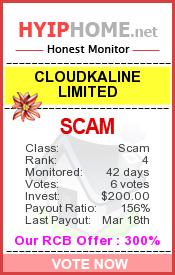 www.hyiphome.net - hyip cloudkaline ltd