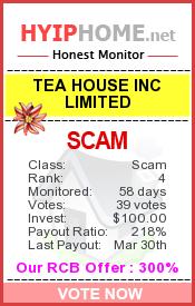 www.hyiphome.net - hyip tea house inc