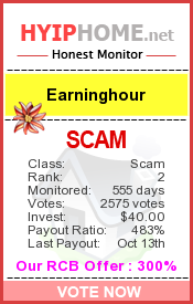 www.hyiphome.net - hyip earning hour