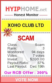 www.hyiphome.net - hyip xo ho club